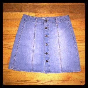 Mossimo Supply Co. Denim Skirt.